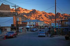 USA Route 66 - Oatman Arizona