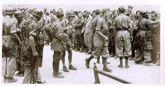 Rome septembre 1943, des soldats italiens sont fait prisonniers par les paras allemands
