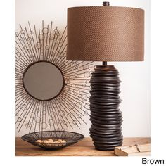 Radiant Retro Lamp | Overstock.com Shopping - Great Deals on Table Lamps