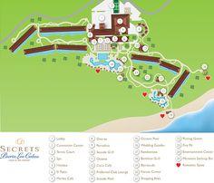 Secrets Puerto Los Cabos Resort Map ~ Unlimited Vacation Club