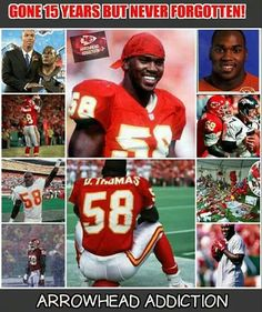 Hall of Fame linebacker Derrick Thomas died in his prime. Plz, wear your seat belts as Thomas died in a car accident NOT wearing his seat belt. Kc Football, Football Season, Kansas City Chiefs Football, Kansas City Royals, American Football League, National Football League, Derrick Thomas, Kansas City Missouri, Football Conference
