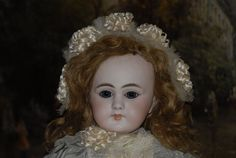 """Rare French Bisque Bebe Dep, 19"""", with Closed Mouth (item #1309537, detailed views)"""