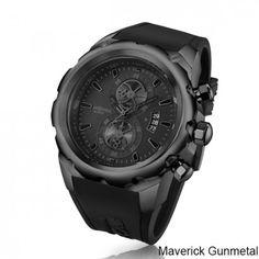 53632e906c9 Airspeed Maverick Gunmetal Chronograph