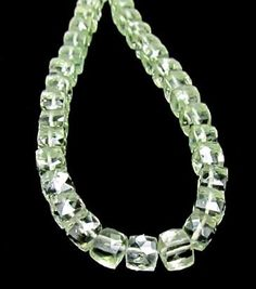 Unbelievably delicate, and at $31, this whole strand of #green #amethyst #prasiolite is an amazing buy!