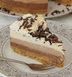 new! NoBake Triple Chocolate Cheesecake!  A Delicious  Utterlyhellip