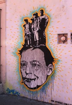 Street art - Oaxaca, Mexico