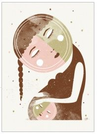 Expected, Silkscreen Printed Artprint by Mara Piccione: http://www.piccione.nl/a-36570793/artprints/artprint-expected/