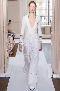 Schiaparelli Fall 2017 Couture Fashion Show - Lorna Foran