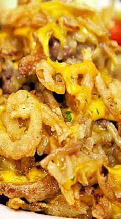 Beefy Rice-A-Roni Casserole