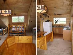 cabin homes inside and out for small cabin decorating ideas and design