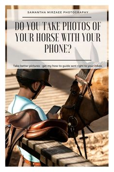 Do you take photos of your horse with your phone? Learn some simple tricks to instantly put you at ease and get better photos. Horse Pictures, Cool Pictures, Cool Photos, Equine Photography, Photography Tips, Horse Tips, Take Better Photos, Show Jumping, Horse Love