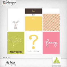Available for just $1 during Pickleberrypop's PICKLE BARREL PROMO through March 24 at 11:59 p.m. EDT! Shop fast to save BIG! Hip hop [journaling cards]