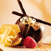 Callebaut - Schoko-Mousse mit Tiramisu-Espuma
