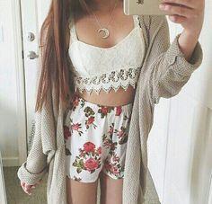 Summer fashion #summer #fashion #cute #loveable #outfits