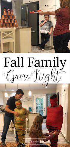 Fall Family Game Night