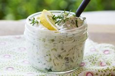Tzatziki Tzatziki, Kitchen, Recipes, Summer, Cooking, Kitchens, Recipies, Ripped Recipes, Cuisine