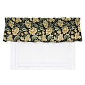 "Found it at Wayfair - Valerie Jacobean Floral Print Tailored 70"" Curtain Valance"