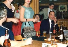 Vintage Party, 1961.  A new purse & Wonderbra just for the occasion.