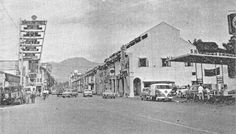 Ipoh Town - where I grew up.  This 1968 picture of Brewster Road, which I had walked many times, brings back memories...