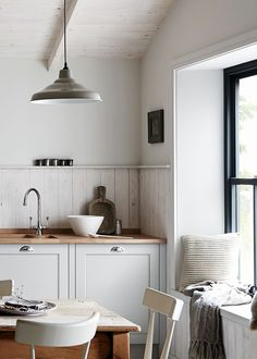 modern rustic shaker by Howdens