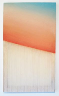 REBECCA WARD // every day a friday, 2013, oil on canvas, 34 x 20 inches.