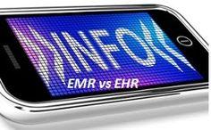 robert von rotz roy: Difference between ehr and emr