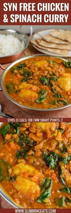 Extra Off Coupon So Cheap Fancy Curry? Serve this delicious Chicken and Spinach Curry for dinner tonight. The whole family will enjoy this. Gluten Free Dairy Free Paleo Slimming World and Weight Watchers friendly Chicken Curry Slimming World, Slimming World Chicken Recipes, Slimming World Recipes Syn Free, Slimming World Cookies, Slimming World Tips, Slow Cooker Slimming World, Slimming World Dinners, Slimming Eats, Slimming World Fakeaway