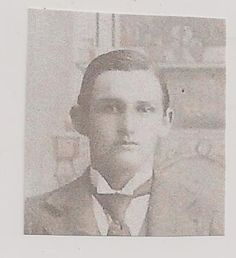Granny's brother Jesse Victor Ross, born 12-11-1880 in Union County, GA, died 11-26-1964 in Bonifay, Florida.