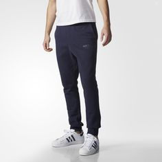 These men's sweat pants elevate an essential style with unique logo details  and super-soft French terry. With an adidas logo treatment taken from  Originals ...