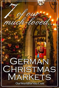 10 of our much-loved German Christmas Markets - Our World for You Christmas Markets Germany, German Christmas Markets, Christmas Markets Europe, Christmas Travel, Christmas Destinations, Prague Christmas, Christmas Vacation, Rustic Christmas, Holiday Travel