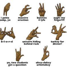 Street gang hand signals hidden signs pinterest freemasonry - What is 4kt gang ...