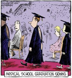 Medical School Graduation Gowns