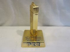 "PEZ REGULARS ""50th ANNIVERSARY GOLDEN GLOW"" Mint Pez Dispenser Loose 