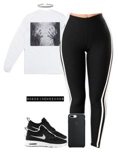 1/9/17 by codeineweeknds on Polyvore featuring polyvore fashion style NIKE Humble Chic clothing