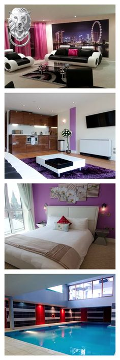 These apartments provide serviced accommodation in the centre of Nottingham. Free on-site parking is available at the property. These modern one and two bedroom apartments have a fully equipped kitchen with a dishwasher and washing machine. Free wireless internet is available throughout the stay. Some apartments also have access to a private balcony. On-site amenities include a gym, and a sauna, steam room, swimming pool and Jacuzzi. Here are Hanley Street Apartments, Centre, Nottingham.