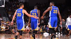 Stephen Curry, Kevin Durant and Draymond Green Named to 2016-17 All-NBA Team | Golden State Warriors
