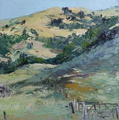 Hills and Fence- Joan Cobb Marsh