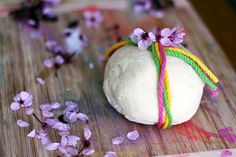 Spring play dough ~ Happy Whimsical Hearts
