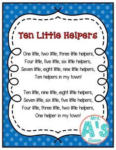 Community Helpers Songs for Preschool | Mrs. A's Room