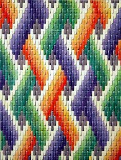 Discover thousands of images about Bargello Patterns Bargello Quilt Patterns, Bargello Needlepoint, Bargello Quilts, Needlepoint Stitches, Embroidery Stitches, Embroidery Patterns, Cross Stitch Patterns, Needlework, Plastic Canvas Stitches