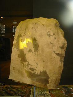 Silk Viking cap-Yorkshire museum. Back view.