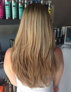 Ombre hairstyles have been all the rage lately. But if you don't want to go all out, you can ease your way into it with soft balayage highlights. Long hair layers are the best to relieve thick locks off the excessive bulk and to add movement and volume to thinner strands