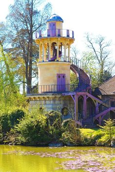 The Marlborough Tower at The Queen's Hamlet, Versailles