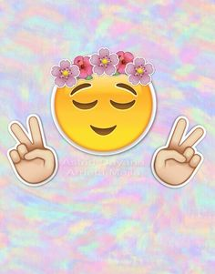 Immagine tramite We Heart It #kawaii #wallpaper #emoji #emojiwallpaper
