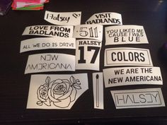 Halsey Stickers by darthniall on Etsy  The match