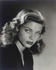 Lauren Bacall....NO I did not get to meet her...but I wrote to her and she sent me a signed picture.