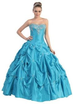 US Fairytailes - Ball Gown Strapless Formal Prom - Prom Dress Pick