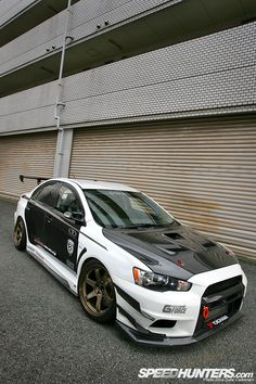 Mitsubishi Lancer Evolution - Follow me on pinterest : http://pinterest.com/TheCarMan/