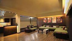 mood lighting for living room area