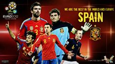 Spain are again the European champions of 2012, after taking the World Cup 2010 and the European Cup in 2008. What a golden team!#Repin By:Pinterest++ for iPad#